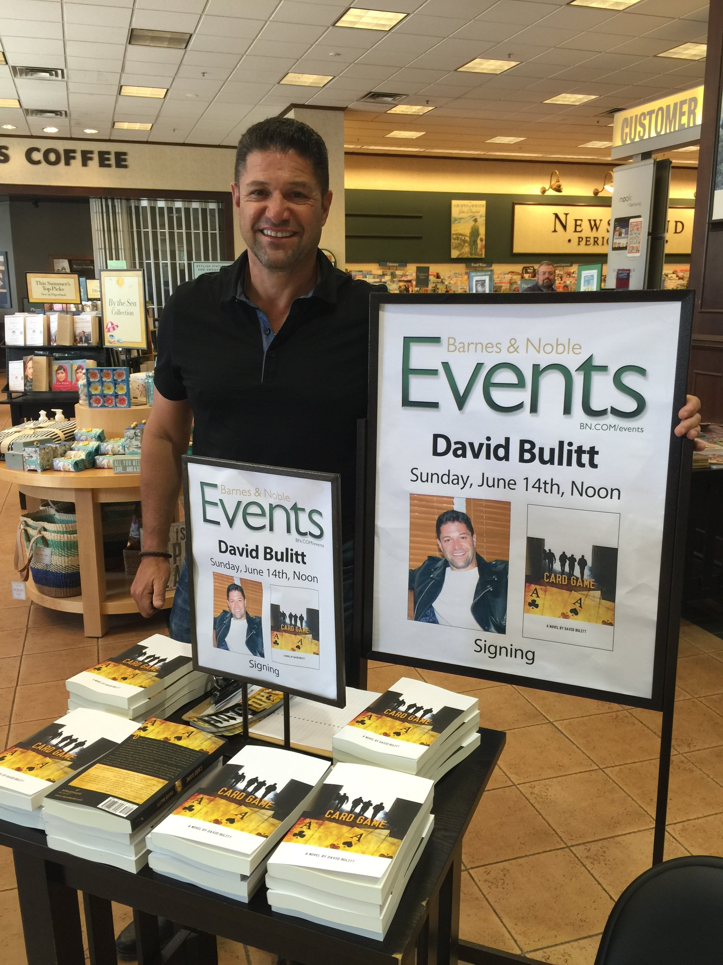 BULITT TAKES CARD GAME TO BARNES AND NOBLE