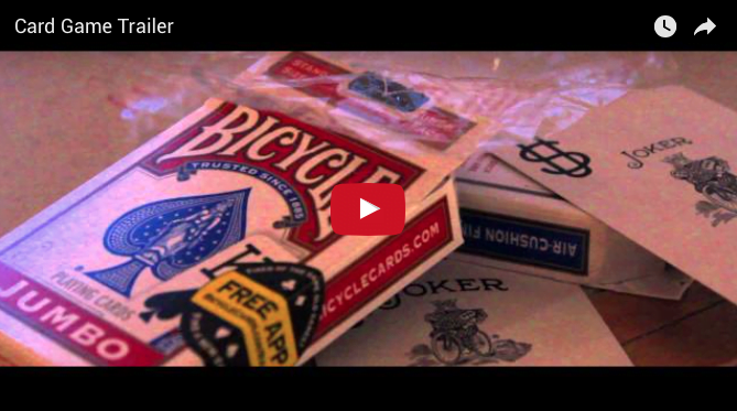 CARD GAME VIDEO TRAILER RELEASED