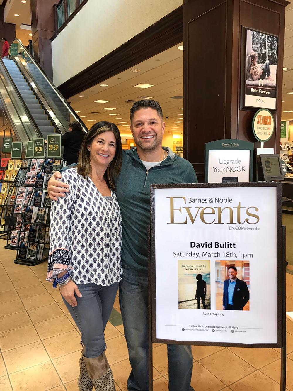 Photos from Book Signing – Barnes & Noble (March 18, 2017)