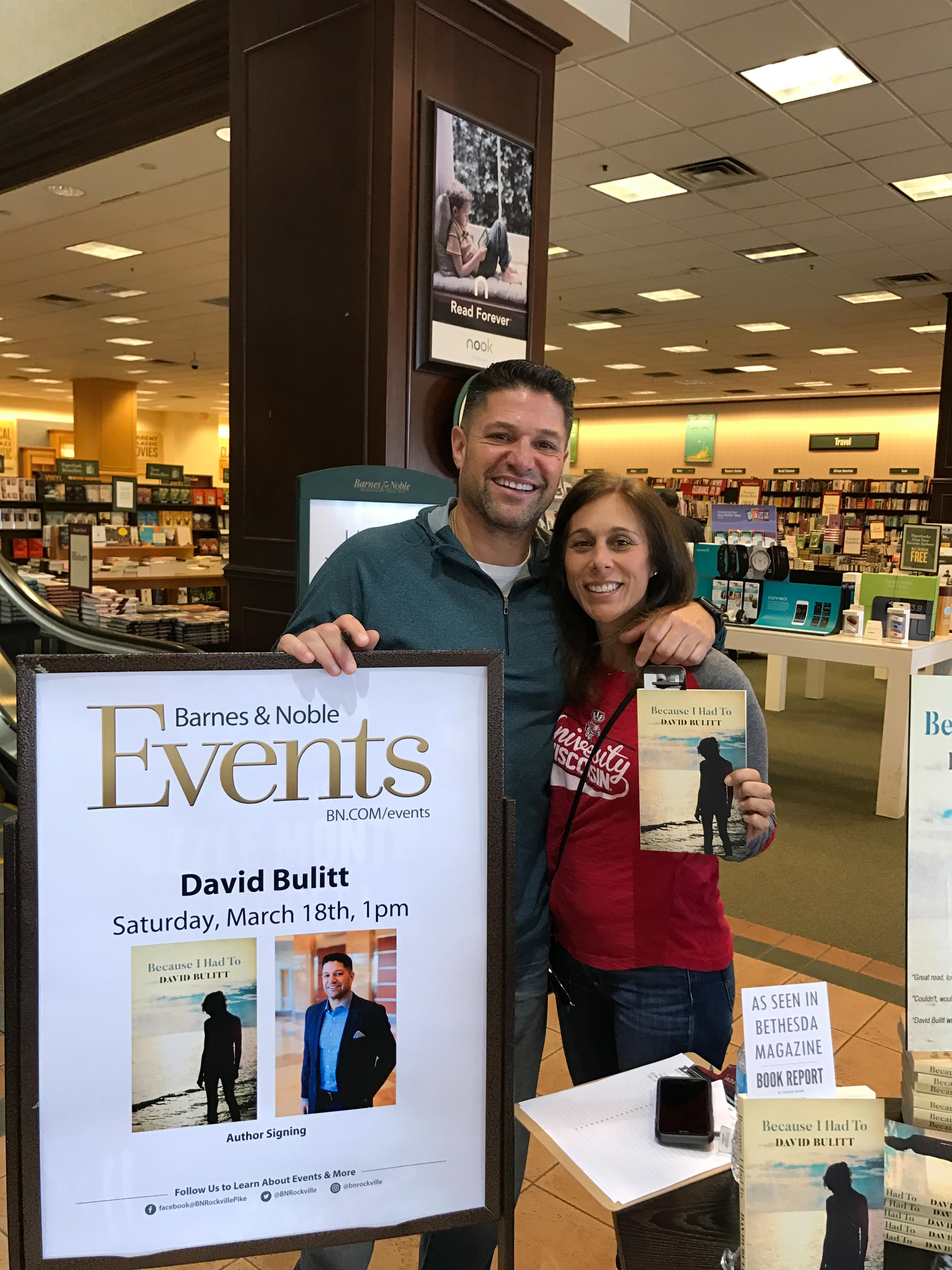Photos from Book Signing – Barnes & Noble (March 18, 2017